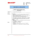 Sharp LL-H1513 (serv.man20) Technical Bulletin