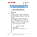 Sharp LL-H1513 (serv.man21) Technical Bulletin