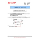 Sharp AL-1000, AL-1010 (serv.man29) Technical Bulletin