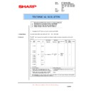 Sharp AL-1000, AL-1010 (serv.man32) Technical Bulletin