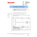 Sharp AL-1000, AL-1010 (serv.man35) Technical Bulletin