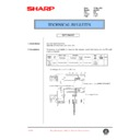 Sharp AL-1000, AL-1010 (serv.man44) Technical Bulletin