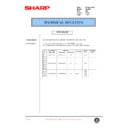 Sharp AL-1000, AL-1010 (serv.man46) Technical Bulletin