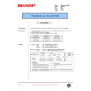 Sharp AL-1000, AL-1010 (serv.man47) Technical Bulletin