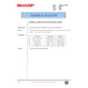 Sharp AL-1000, AL-1010 (serv.man50) Technical Bulletin
