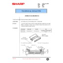 Sharp AL-1000, AL-1010 (serv.man51) Technical Bulletin