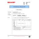 Sharp AL-1000, AL-1010 (serv.man52) Technical Bulletin