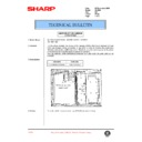 Sharp AL-1000, AL-1010 (serv.man53) Technical Bulletin