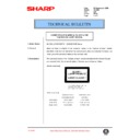 Sharp AL-1000, AL-1010 (serv.man54) Technical Bulletin