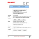 AL-1000, AL-1010 (serv.man62) Technical Bulletin