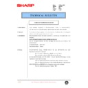 AL-1000, AL-1010 (serv.man64) Technical Bulletin