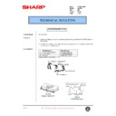 AL-1000, AL-1010 (serv.man65) Technical Bulletin
