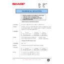 AL-1000, AL-1010 (serv.man67) Technical Bulletin