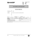 AL-1000, AL-1010 (serv.man83) Technical Bulletin