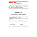 AL-1000, AL-1010 (serv.man88) Technical Bulletin