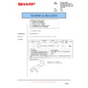 Sharp AL-1520 (serv.man15) Technical Bulletin