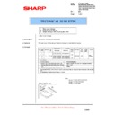 Sharp AL-1520 (serv.man16) Technical Bulletin