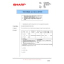 Sharp AL-1520 (serv.man17) Technical Bulletin