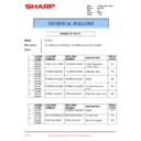 Sharp AL-1520 (serv.man18) Technical Bulletin