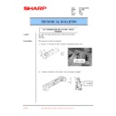 Sharp AL-1520 (serv.man19) Technical Bulletin