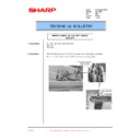 Sharp AL-1520 (serv.man20) Technical Bulletin