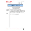 Sharp AL-1520 (serv.man22) Technical Bulletin