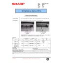 Sharp AL-1520 (serv.man23) Technical Bulletin