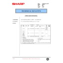 Sharp AL-1520 (serv.man24) Technical Bulletin