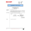 Sharp AL-1520 (serv.man27) Technical Bulletin