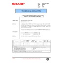 Sharp AL-1520 (serv.man30) Technical Bulletin