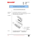Sharp AL-1520 (serv.man31) Technical Bulletin