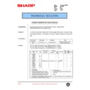 Sharp AL-1520 (serv.man38) Technical Bulletin