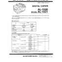 Sharp AL-1520 (serv.man4) Service Manual