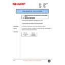 Sharp AL-1520 (serv.man41) Technical Bulletin