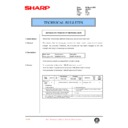 Sharp AL-1520 (serv.man45) Technical Bulletin