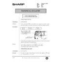 Sharp AL-1520 (serv.man47) Technical Bulletin