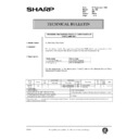 Sharp AL-1520 (serv.man48) Technical Bulletin