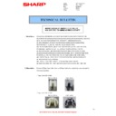 Sharp AL-2020 (serv.man10) Technical Bulletin