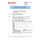 Sharp AL-2020 (serv.man14) Technical Bulletin