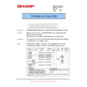 Sharp AL-2020 (serv.man17) Technical Bulletin
