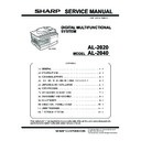 Sharp AL-2020 (serv.man2) Service Manual