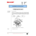 Sharp AL-840 (serv.man31) Technical Bulletin