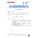 Sharp AL-840 (serv.man32) Technical Bulletin