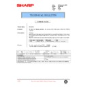 Sharp AL-840 (serv.man33) Technical Bulletin