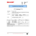 Sharp AL-840 (serv.man34) Technical Bulletin