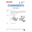 Sharp AL-840 (serv.man35) Technical Bulletin