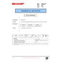 Sharp AL-840 (serv.man40) Technical Bulletin