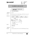 Sharp AL-840 (serv.man42) Technical Bulletin