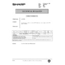 Sharp AL-840 (serv.man44) Technical Bulletin