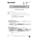 Sharp AL-840 (serv.man47) Technical Bulletin